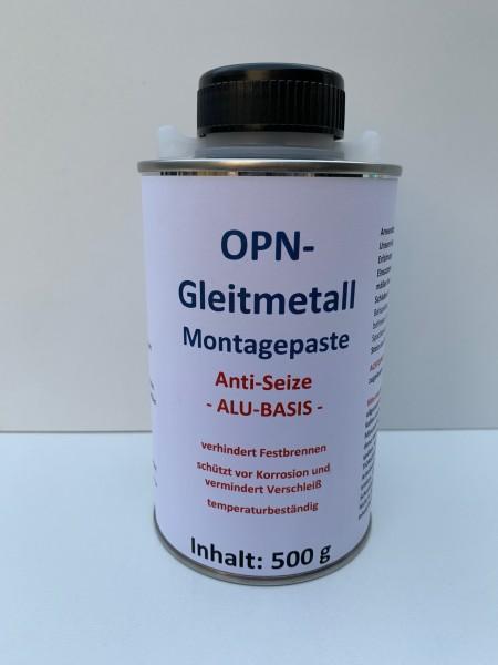 Gleitmetall-Montagepaste AntiSeize OPN 500 ml