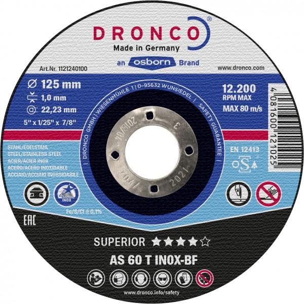Trennscheibe AS60T INOX 1,0x125 mm