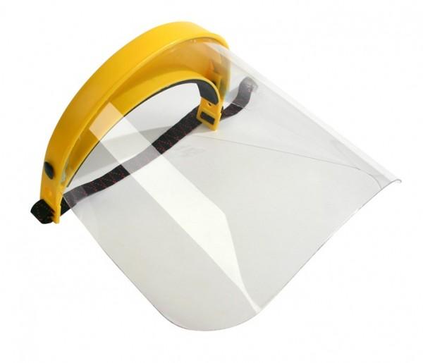 Gesichtsschutz OREGON Polyvisier Gummiband